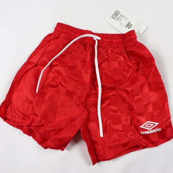 b81dbf424f Umbro Shorts   New Youth Medium Nylon Soccer Red   Poshmark
